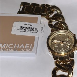 Michael kors MK3131 Gold Tone Watch